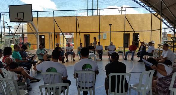 Encontro foi realizado no ginásio do Setor Central de Santa Maria, uma forma de descentralizar as discussões sobre assunto tão relevante quanto o transporte coletivo
