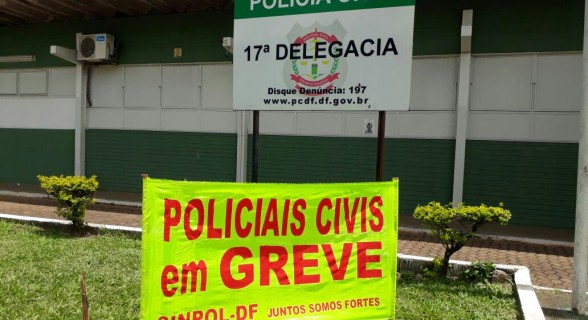 Policiais civis pedem aumento salarial e a contratação de novos servidores