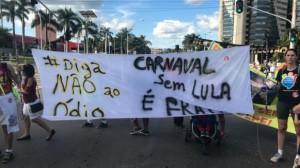 Lula folião é outra reivindicação de parte da turma