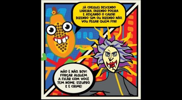 """Campanha do """"Pequeno Manual Prático de Como Não Ser um Babaca no Carnaval"""" do Recife viralizou nas redes sociais e chega à terceira edição neste ano"""