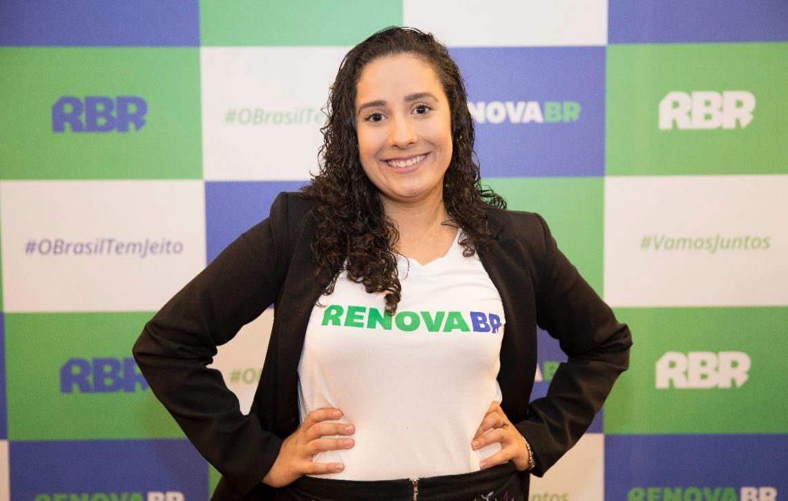 Resultado de imagem para Thaynara Melo tem 25 anos e é formada em biblioteconomia na UnB. Liderança Regional do Movimento Acredito.