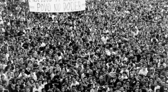 A passeata dos 100 mil, um marco na luta contra a ditadura militar