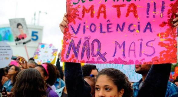 Violência contra mulheres