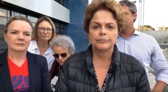 """Dilma fala depois da negativa judicial:  """"The Mona Lisa"""""""