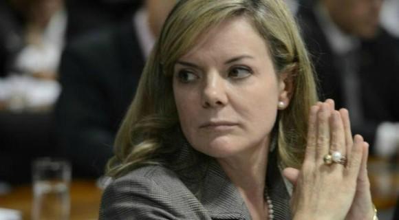 A senadora