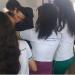 Emocionado, Bruno foi abraçado pelos alunos, que filmaram o momento