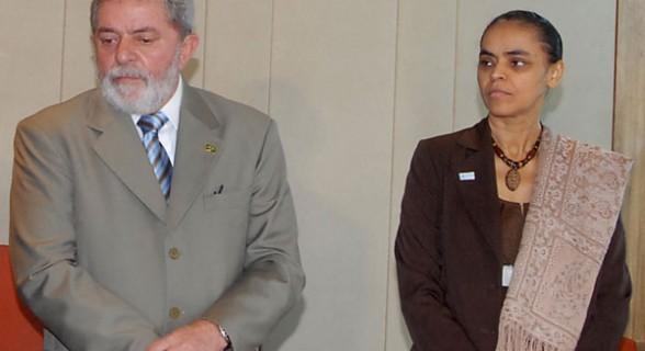 Marina foi ministra de Lula entre 2003 e 2008 e pode ser destinatária de parte dos votos que seriam dados ao ex-presidente caso ele não possa concorrer em outubro
