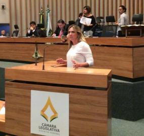 Celina Leão (PPS), presidente da Câmara Legislativa do DF
