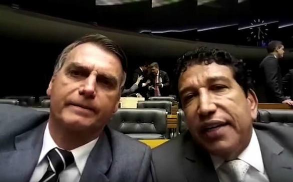 Magno Malta e Bolsonaro