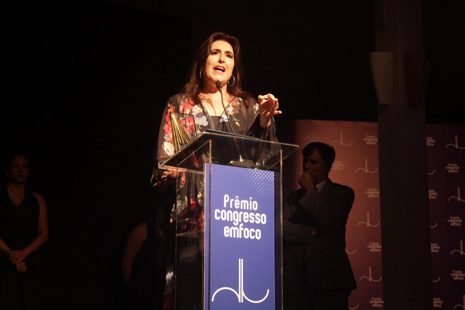 Simone Tebet é eleita pelo júri a melhor senadora de 2018 ... 60ba6d4ffe
