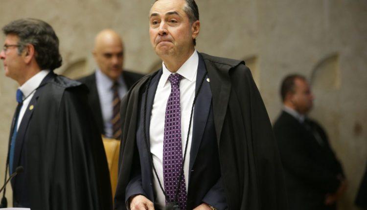 Ministro Luís Roberto Barroso presidente do TSE[fotografo]Antonio Cruz/Agência Brasil[/fotografo]