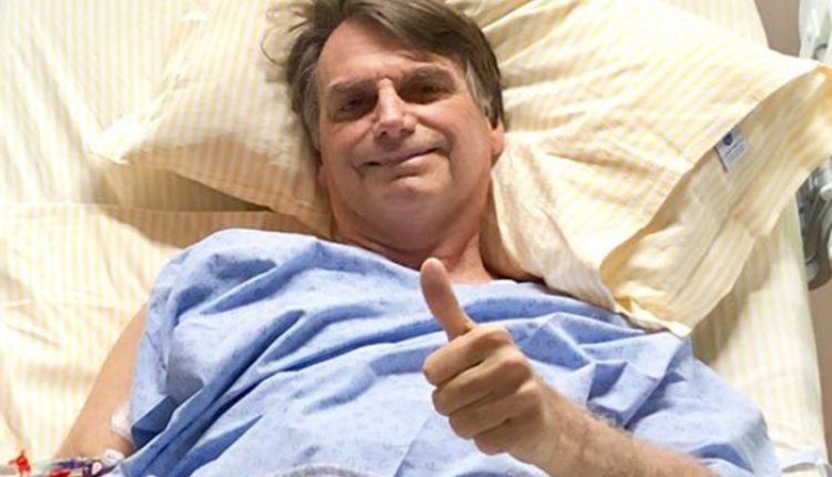 Bolsonaro deixa hospital