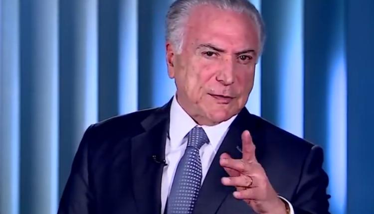 Defesa apresenta pedido de soltura de Michel Temer