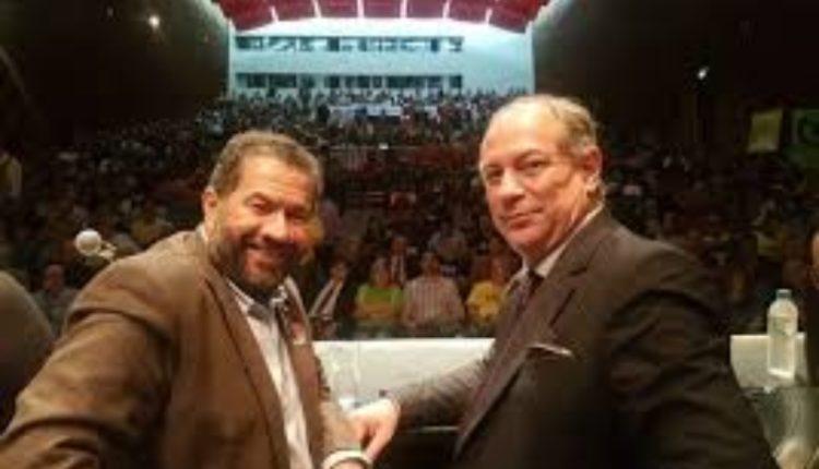 Lupi e Ciro em evento partidário: terceiro lugar na corrida presidencial