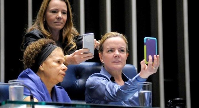 Regina Souza, Vanessa Grazziotin e Gleisi Hoffmann deixam o Senado a partir de 2019, mas por razões diferentes
