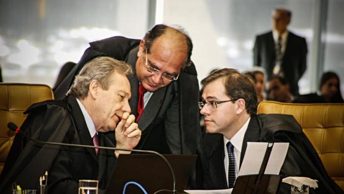 Lewandowski, Gilmar e Toffoli são três dos alvos da ira da procuradora