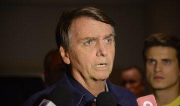 O candidato do PSL à Presidência, Jair Bolsonaro