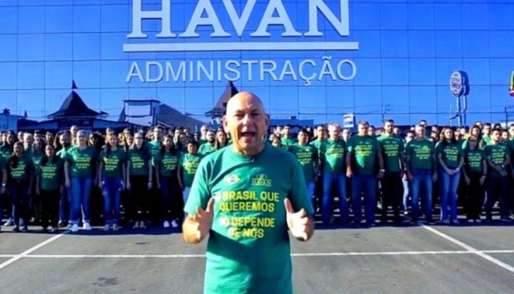 MPF. Luciano Hang promovia enquetes internas para saber como cada funcionário votaria