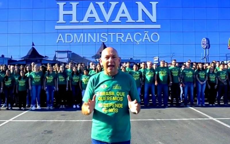 MPT quer multar Havan em R$ 100 milhões por coagir funcionários a votar em Bolsonaro - Divulgação