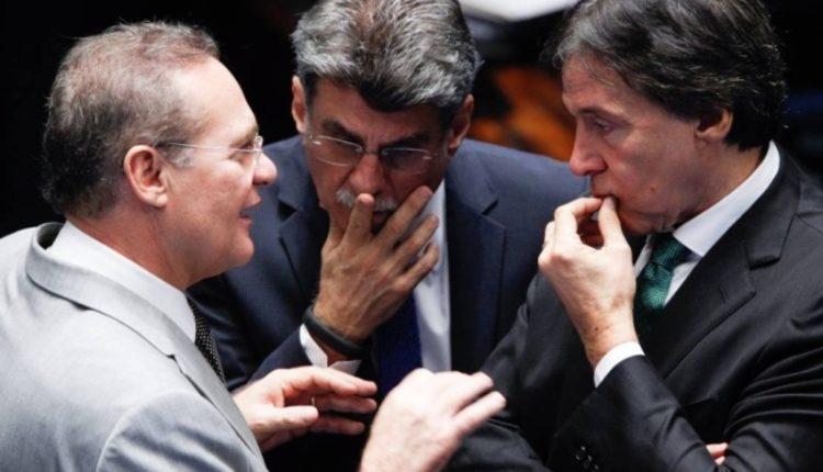 Senadores. Próceres do MDB, Renan, Jucá e Eunício são três dos senadores investigados em processos diversos e, por isso, eventuais beneficiários do projeto