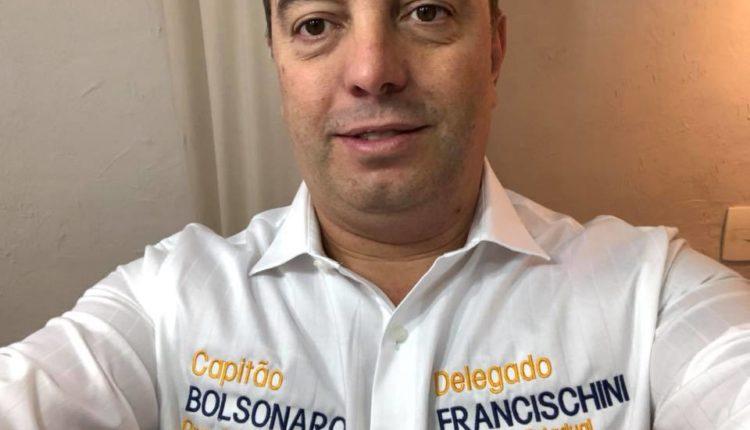 Ministério. Francischini é um dos principais aliados de Bolsonaro no Paraná