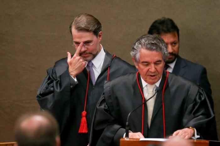 Toffoli e Marco Aurélio duelam sobre soltura de Lula, com vitória do primeiro