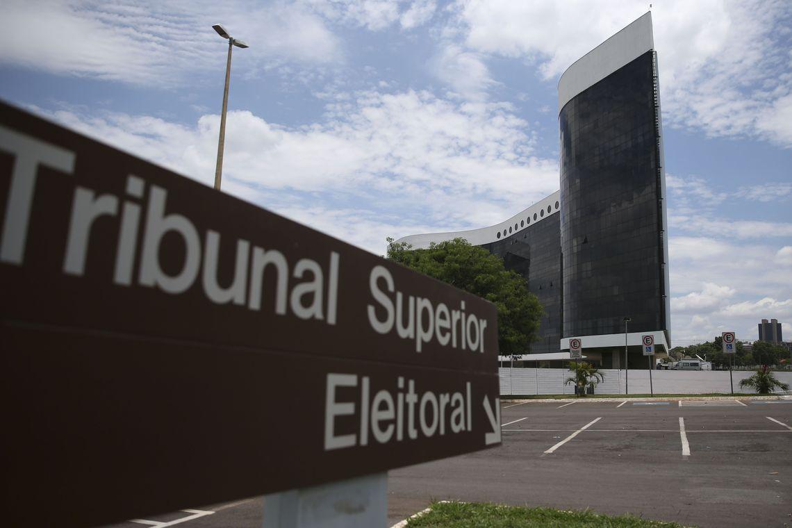 TSE decide hoje se aprova contas da campanha de Bolsonaro - José Cruz/Agência Brasil