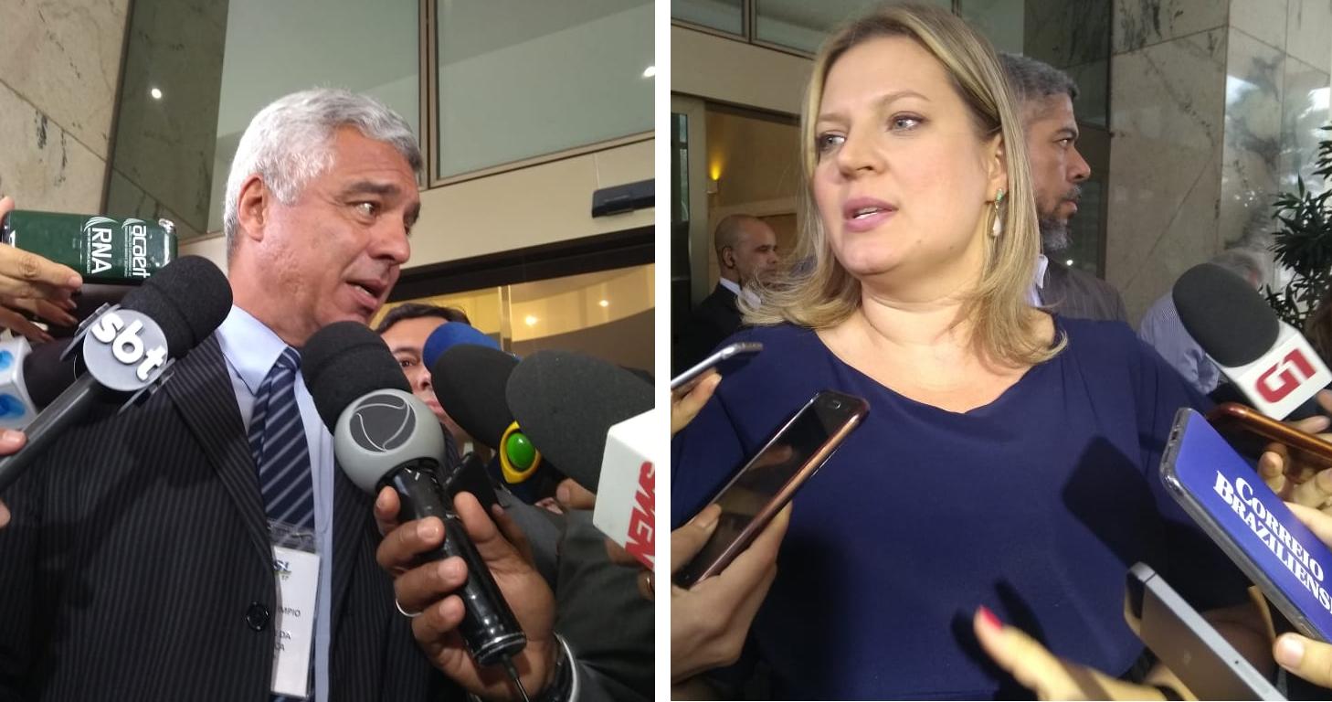 Senador e deputada federal bolsonaristas trocam ofensas no Congresso; veja o vídeo