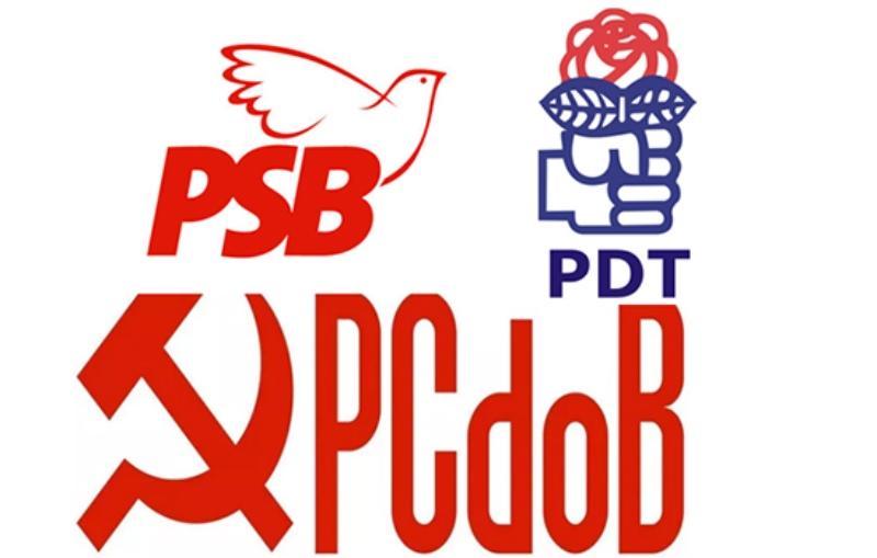 PDT, PCdoB e PSB confirmam bloco de oposição a Bolsonaro sem incluir o PT - Reprodução