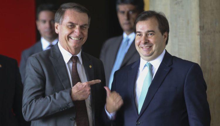 Bolsonaro e Maia