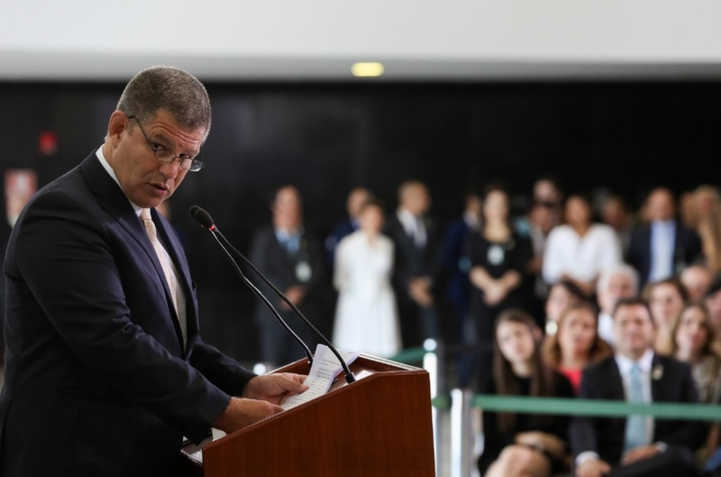 """Bebianno fala sobre laranjas na eleição e diz que Bolsonaro """"está com medo de respingo"""" - Marcos Corrêa / PR"""