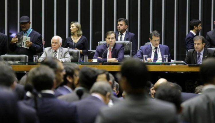 Câmara. Maia defendeu projeto após sua aprovação em plenário
