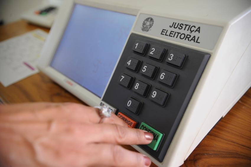Urna Eletrônica. Live discute narrativas nas eleições do Brasil e dos EUA em 2020[fotografo] TSE [/fotografo]