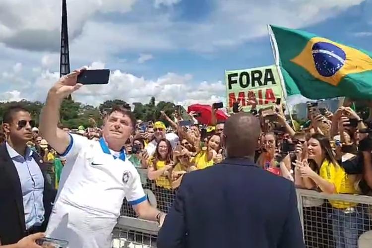 Presença em ato agrava crise entre Bolsonaro e Congresso e STF ...