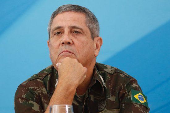 Ministério da Defesa x Omar Aziz / O ministro da Defesa, general Braga Netto [fotografo] Agência Brasil [/fotografo]