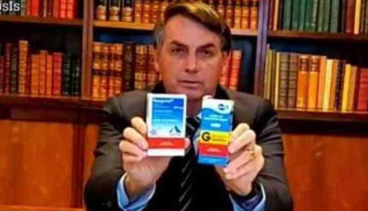 Presidente Jair Bolsonaro defende a utilização da cloroquina [fotografo] Reprodução [/fotografo]