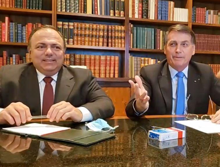 Bolsonaro desautoriza Pazuello e diz que não comprará vacina chinesa