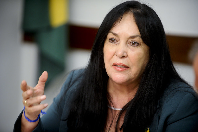 Senadora Rose de Freitas deixa o Podemos após conflito por PEC da reeleição    Congresso em Foco