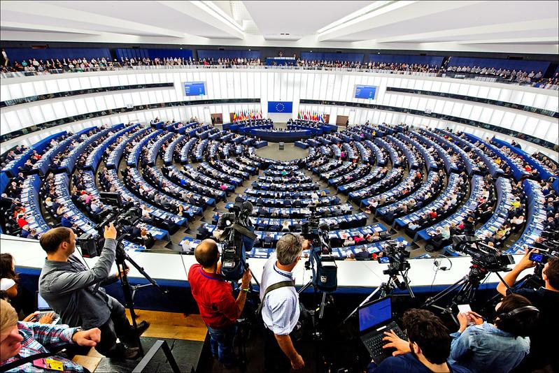 Foto do Parlamento europeu. <div class='fotografo'> Parlamento Europeu/Flickr </div>