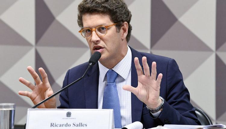 O ministro do Meio Ambiente, Ricardo Salles.[fotografo]Jefferson Rudy/Agência Senado[/fotografo]