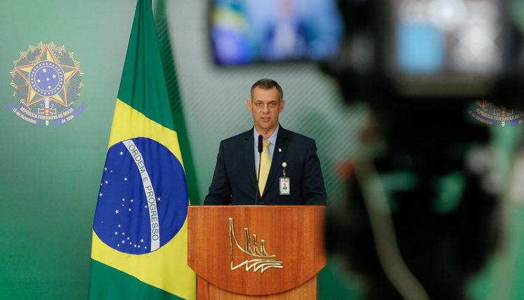 Pronunciamento do Porta-Voz Otávio Rêgo Barros. [fotografo]Anderson Riedel/PR[/fotografo]