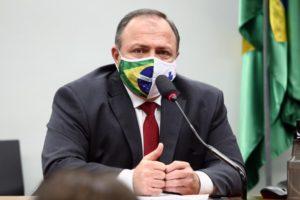 Ministro da Saúde, general Eduardo Pazuello [fotografo]Najara Araújo/Câmara dos Deputados [/fotografo] Rondônia