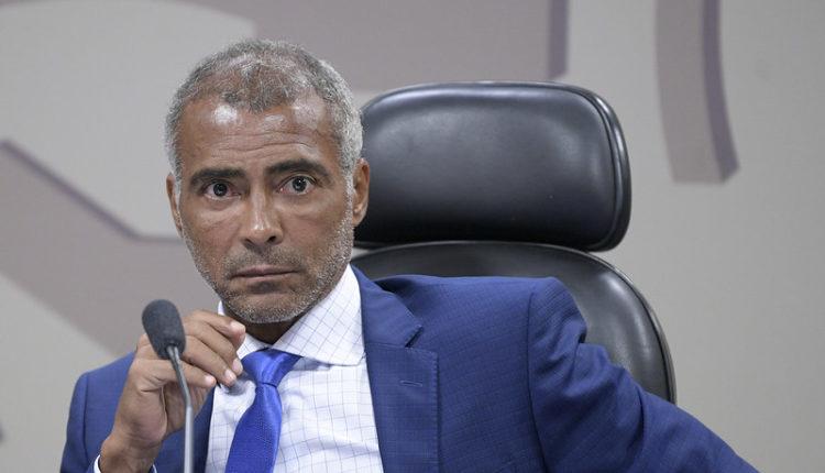 Senador Romário (PL-RJ) [fotografo] Pedro França/Agência Senado [/fotografo]