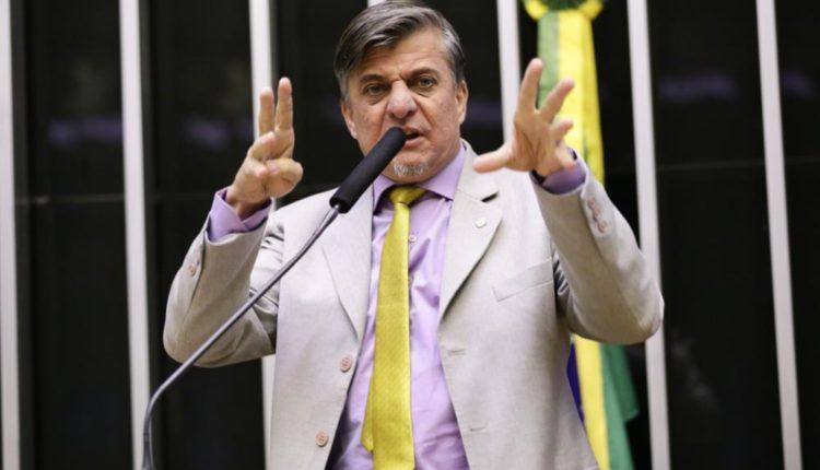 O deputado Boca Aberta, do PROS do Paraná. [fotografo]Michel Jesus/ Câmara dos Deputados[/fotografo]