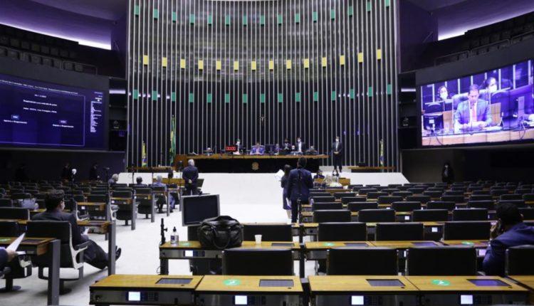 Sessão nesta quarta-feira, presidida por Marcelo Ramos (PL-AM) [fotografo]Maryanna Oliveira/Câmara dos Deputados[/fotografo]
