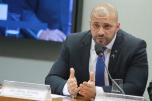 O deputado Daniel Silveira (PSL-RJ), durante sessão de 2019 [fotografo Plínio Xavier/Câmara dos Deputados[/fotografo]