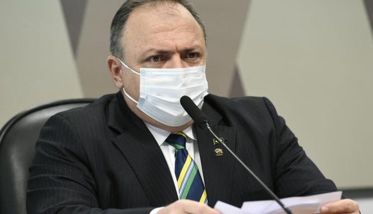 CPI da Covid realiza oitiva do ex-ministro da Saúde, Eduardo Pazuello [fotografo] Jefferson Rudy/Agência Senado [/fotografo]