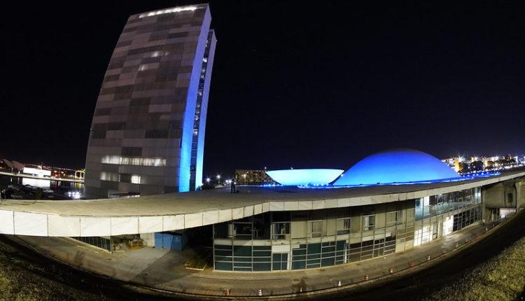 Vista externa do Congresso Nacional[fotografo]Roque de Sá/Agência Senado[/fotografo]