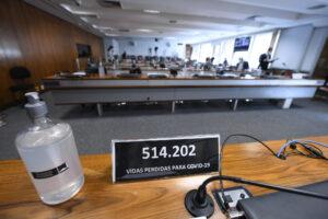 CPI da Covid <div class='fotografo'> Edilson Rodrigues/Agência Senado</div>