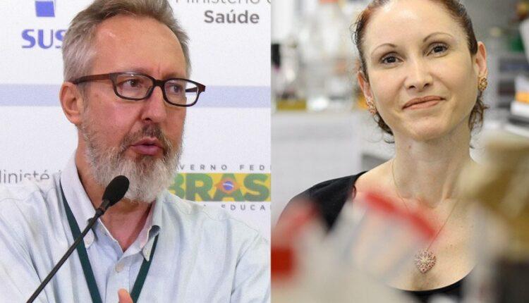 Os cientistas Natalia Pasternak e Claudio Maierovitch[fotografo]Elza Fiuza/Agência Brasil e Gute Garbelotto/CMSP [/fotografo]